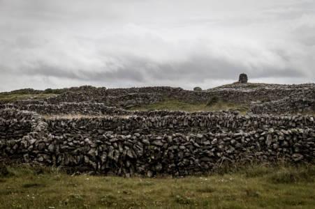Grey Stone Fences (Aran Island, Ireland, July, 2019